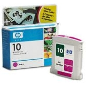 Original HP 10 Magenta Ink Cartridge in Retail Packaging (C4843A)