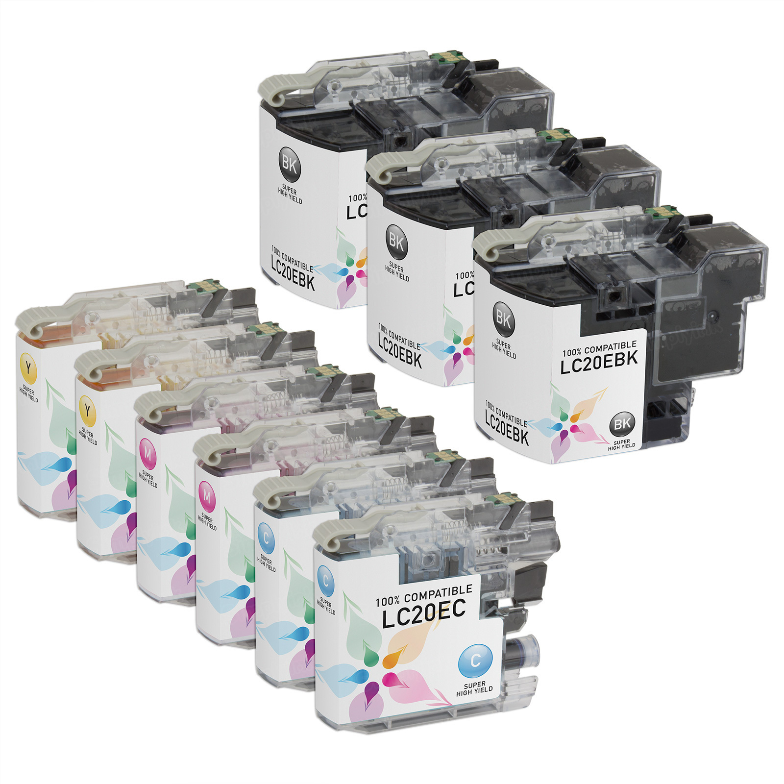 Compatible LC20E 9 Pack for Brother