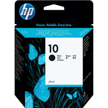 Original HP 10 Black Ink Cartridge in Retail Packaging (C4844A) High-Yield