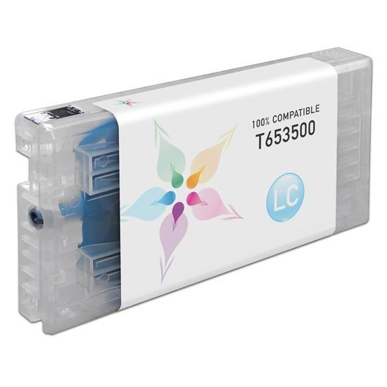 Epson Compatible T653500 Light Cyan Inkjet Cartridge for the Stylus Pro 4900