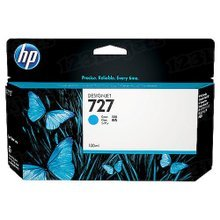 Original HP 727 Cyan Ink Cartridge in Retail Packaging (B3P19A) High-Yield