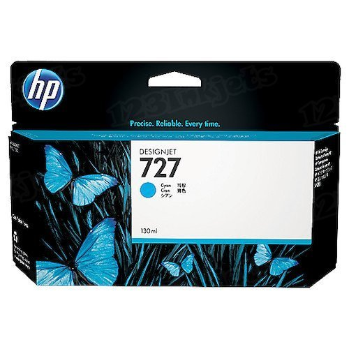 HP 727 Cyan Original Ink Cartridge B3P19A