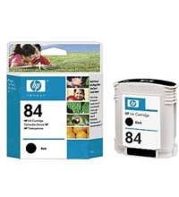 Original HP 84 Black Ink Cartridge in Retail Packaging (C5016A)