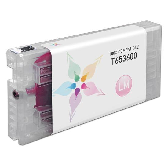 Epson Compatible T653600 Light Magenta Inkjet Cartridge for the Stylus Pro 4900