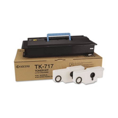 OEM Kyocera-Mita TK-717 Black Toner Cartridge