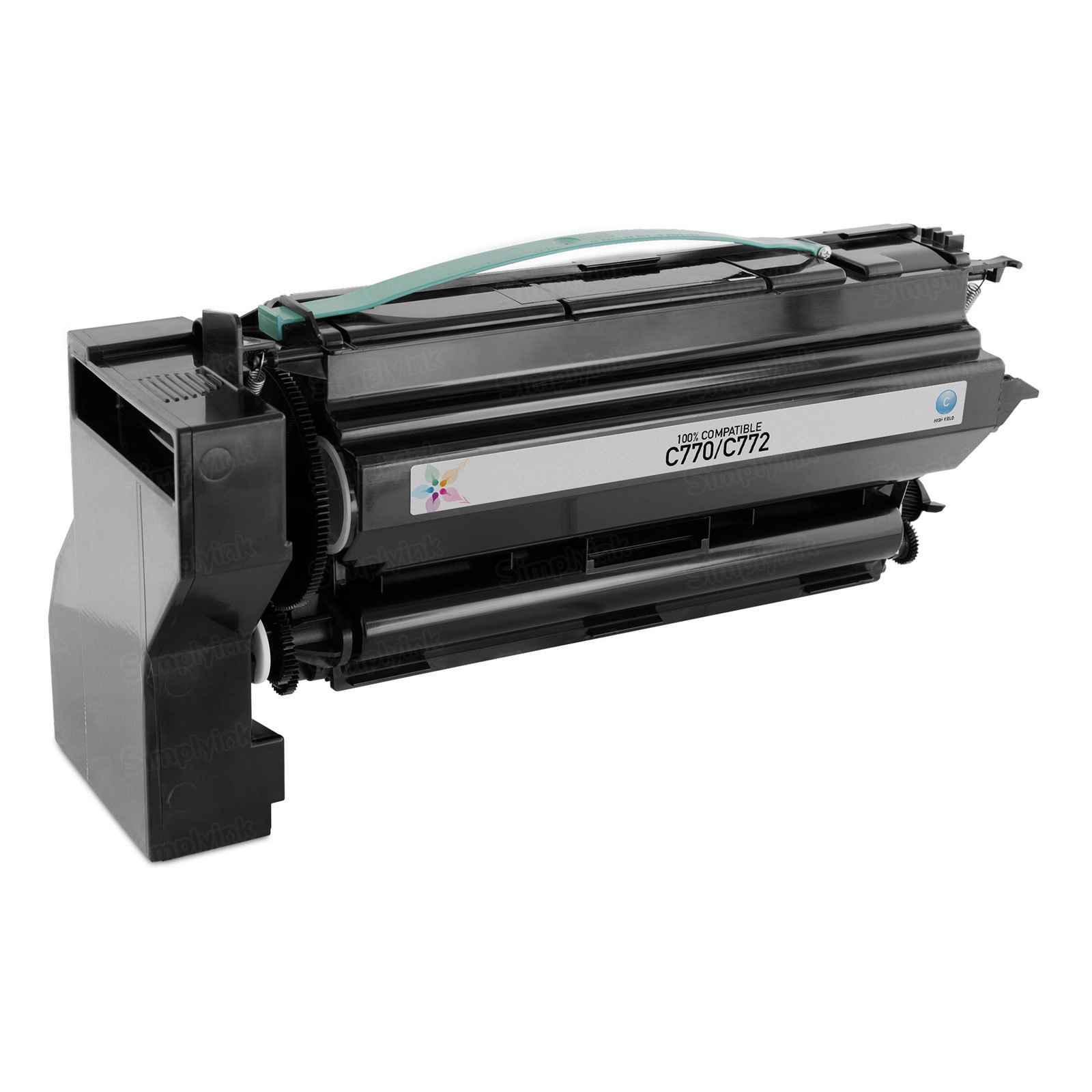 Remanufactured C7702CH HY Cyan Toner Cartridge for Lexmark C770/C772