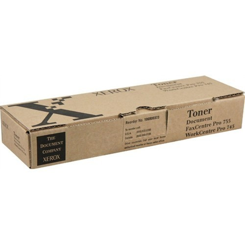 Xerox 106R00373 (106R373) Black OEM Toner Cartridge