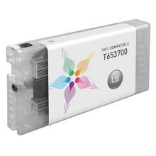 Compatible Replacement for Epson T653700 (T6537) Light Black 200ml Ink Cartridges for the Stylus Pro 4900