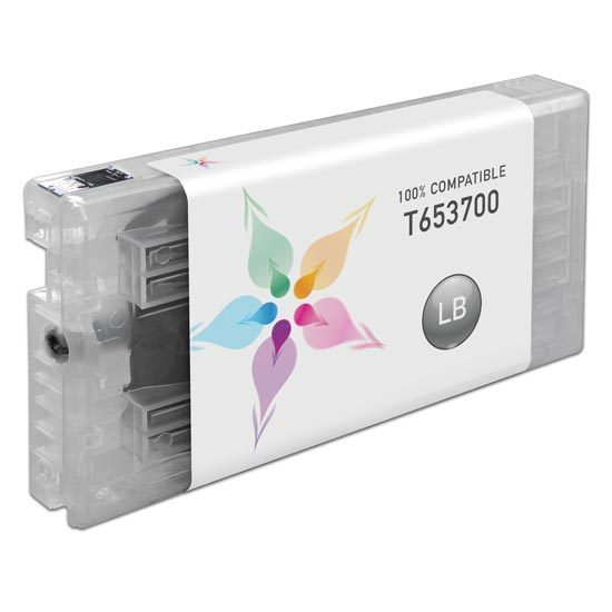 Epson Compatible T653700 Light Black Inkjet Cartridge for the Stylus Pro 4900