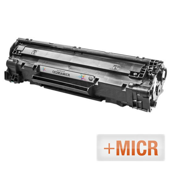 Remanufactured Replacement Black Laser Toner for HP 85A MICR