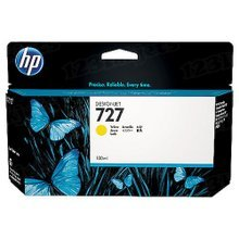 Original HP 727 Yellow Ink Cartridge in Retail Packaging (B3P21A) High-Yield