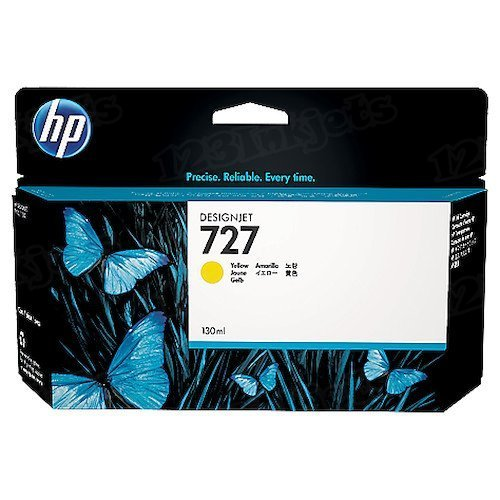 HP 727 Yellow Original Ink Cartridge B3P21A