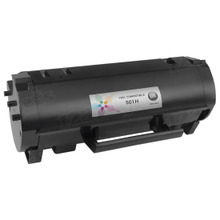 Lexmark Compatible High Yield Black Laser Toner Cartridge, 50F1H00 (5K Page Yield)