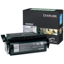 Lexmark OEM Black Return Program Laser Toner Cartridge, 12A0825 (Optra SE 3455 Series) (23K Page Yield)
