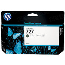 Original HP 727 Matte Black Ink Cartridge in Retail Packaging (B3P22A) High-Yield