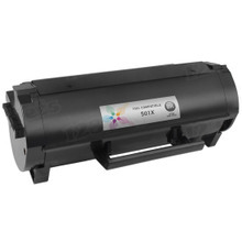 Lexmark Compatible Extra High Black Laser Toner Cartridge, 50F1X00 (MS410/MS415/MS510/MS610 Series) (10K Page Yield)