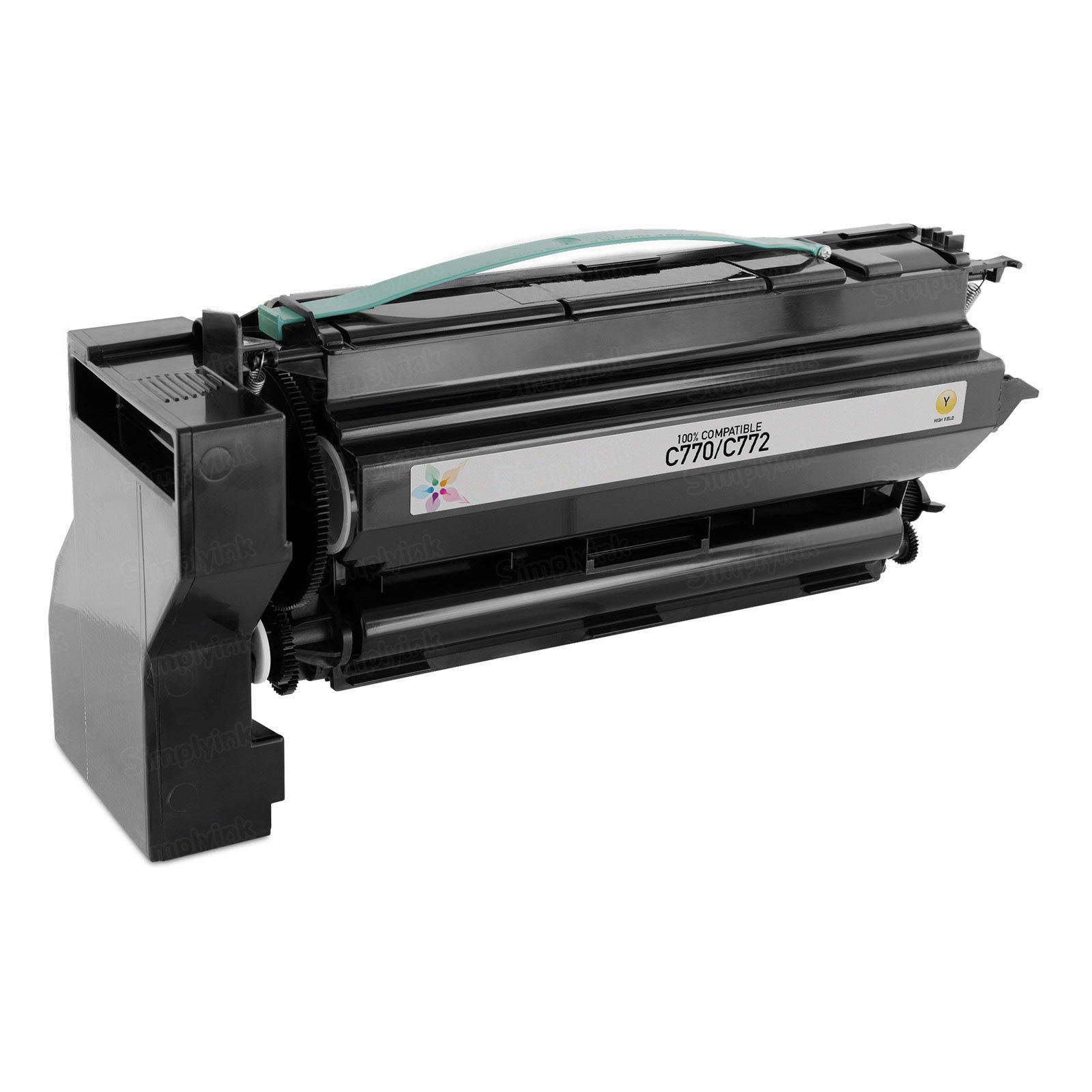 Remanufactured C7702YH HY Yellow Toner Cartridge for Lexmark C770/C772