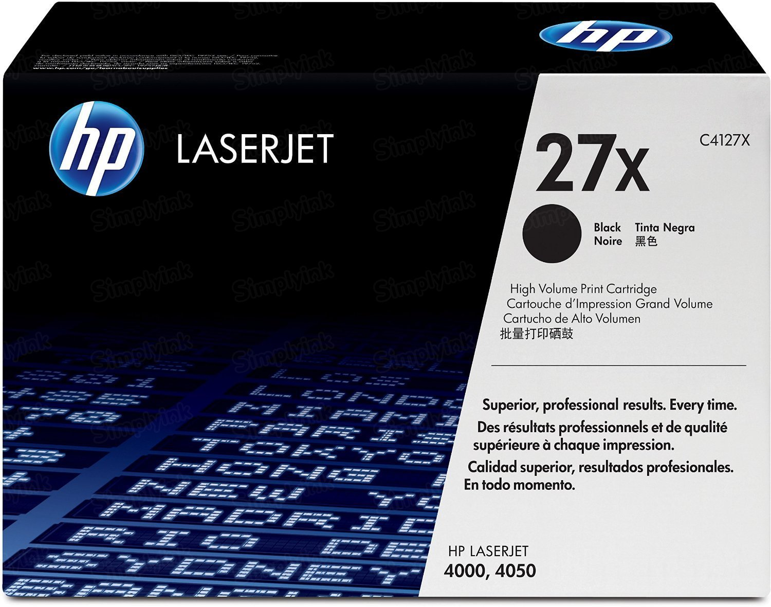 Original HP C4127X (27X) HY Black Toner