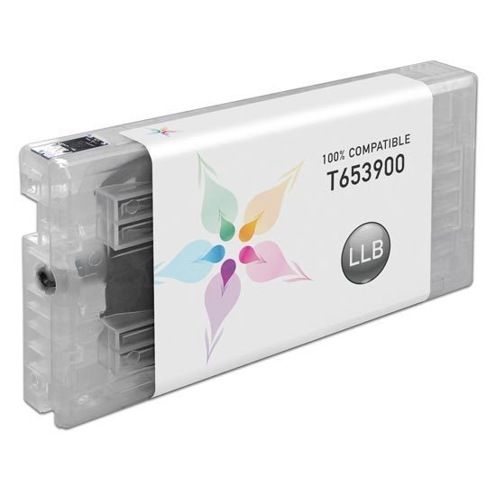 Epson Compatible T653900 Light Light Black Inkjet Cartridge for the Stylus Pro 4900