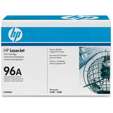 HP 96A (C4096A) Black Original Toner Cartridge in Retail Packaging