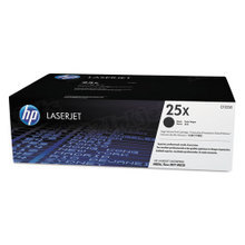 HP 25X (CF325X) Black High Yield Original Toner Cartridge in Retail Packaging