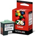 Lexmark 26 Color OEM Ink Cartridge (10N0026)