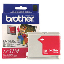 Brother LC51M Magenta OEM Ink Cartridge