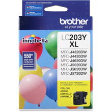 OEM LC203Y for Brother High Yield Yellow Ink Cartridge