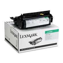 Lexmark OEM Black Return Program Laser Toner Cartridge, 12A6860 (T620/T622/X620 Series) (10K Page Yield)