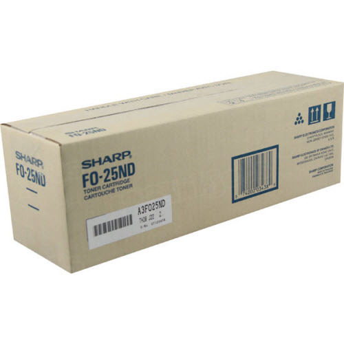 OEM Sharp FO-25ND Black Toner Cartridge