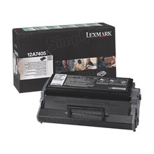 Lexmark OEM High Yield Black Return Program Laser Toner Cartridge, 12A7405 (E321/E323 Series) (6K Page Yield)
