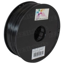 Black 3D Printer Filament 1.75mm 1kg ABS