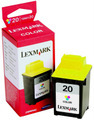 Lexmark 20 Color OEM Ink Cartridge (15M0120)