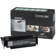 Lexmark OEM Black Return Program Laser Toner Cartridge, 12A7410 (T420 Series) (5K Page Yield)