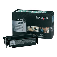 Lexmark OEM High Yield Black Return Program Laser Toner Cartridge, 12A7415 (T420 Series) (10K Page Yield)