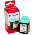 Lexmark 60 Color OEM Ink Cartridge (17G0060)