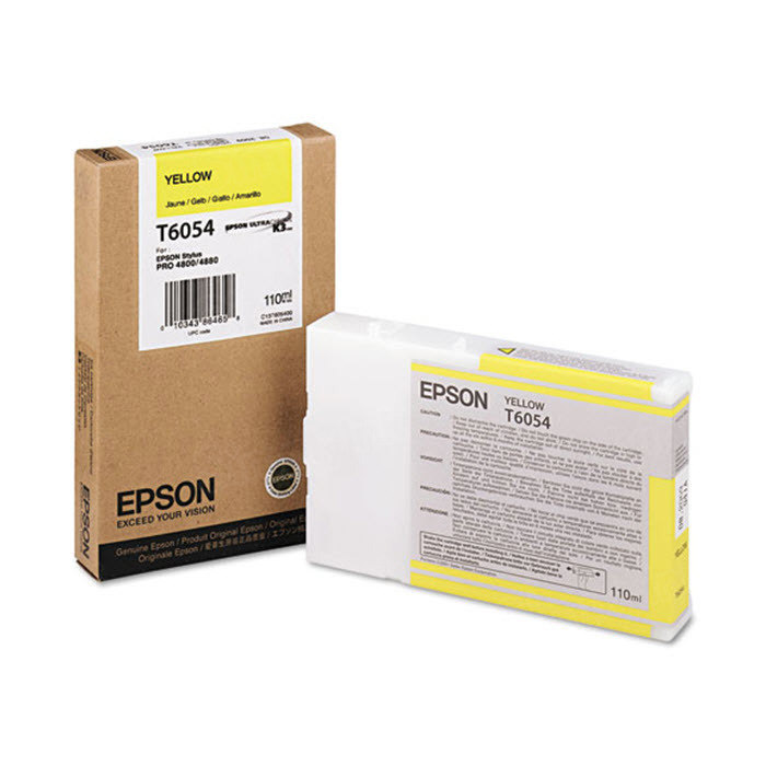 Epson T605400 Yellow OEM Ink Cartridge