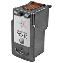 Remanufactured Canon PG-210 Black Ink Cartridges