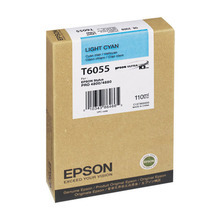 Original Epson T605500 Light Cyan 110 ml Inkjet Cartridge (T6055)