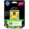 HP 02XL Yellow Original Ink Cartridge C8732WN