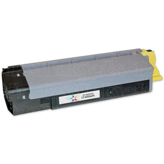 Okidata Compatible 43324474 Yellow Toner for CX2032 MFP