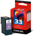 Lexmark 33 Color OEM Ink Cartridge (18C0033)