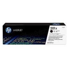 HP 201X (CF400X) Black High Yield Original Toner Cartridge in Retail Packaging
