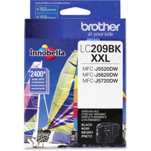 OEM LC209BK for Brother Super High Yield Black Ink Cartridge