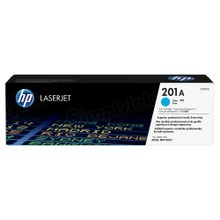 HP 201A (CF401A) Cyan Original Toner Cartridge in Retail Packaging