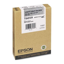 Original Epson T605900 Light Light Black 110 ml Inkjet Cartridge (T6059)