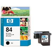 Original HP 84 Black Printhead in Retail Packaging (C5019A)