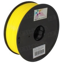Yellow 3D Printer Filament 1.75mm 1kg ABS
