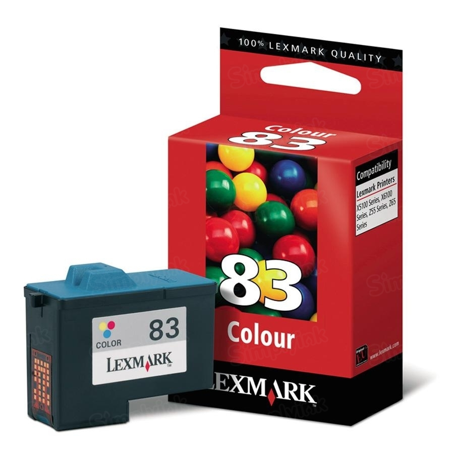 Lexmark 83 Color OEM Ink Cartridge (18L0042)
