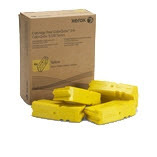 OEM Xerox 108R00831 / 108R831 Yellow Solid Ink 4-Pack
